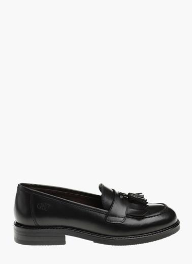 George Hogg Deri Loafer Ayakkabı Siyah